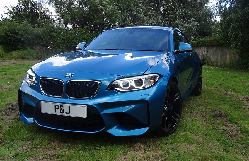 PPF Fitting for your vehicle BMW M2