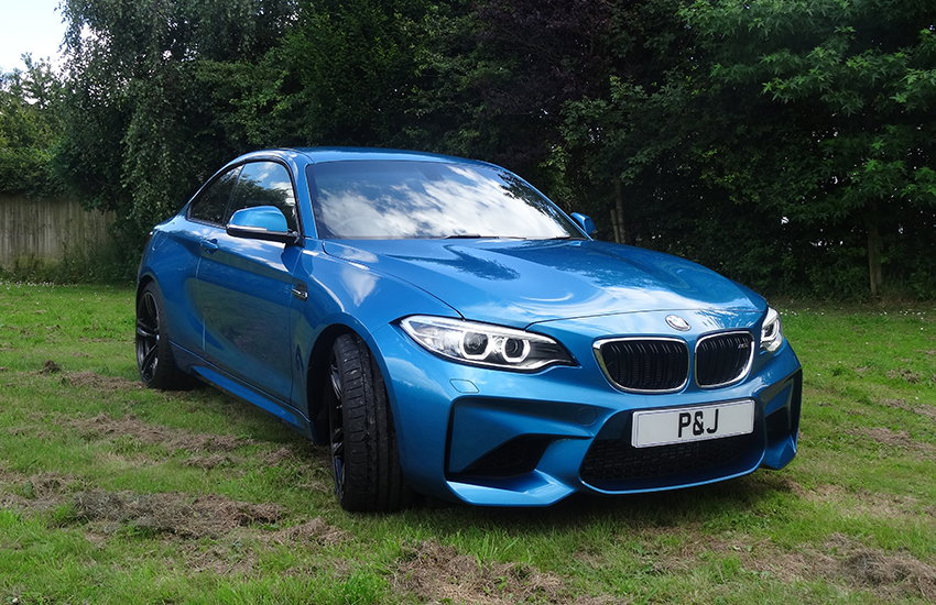 Mobile Paint Protection BMW M2