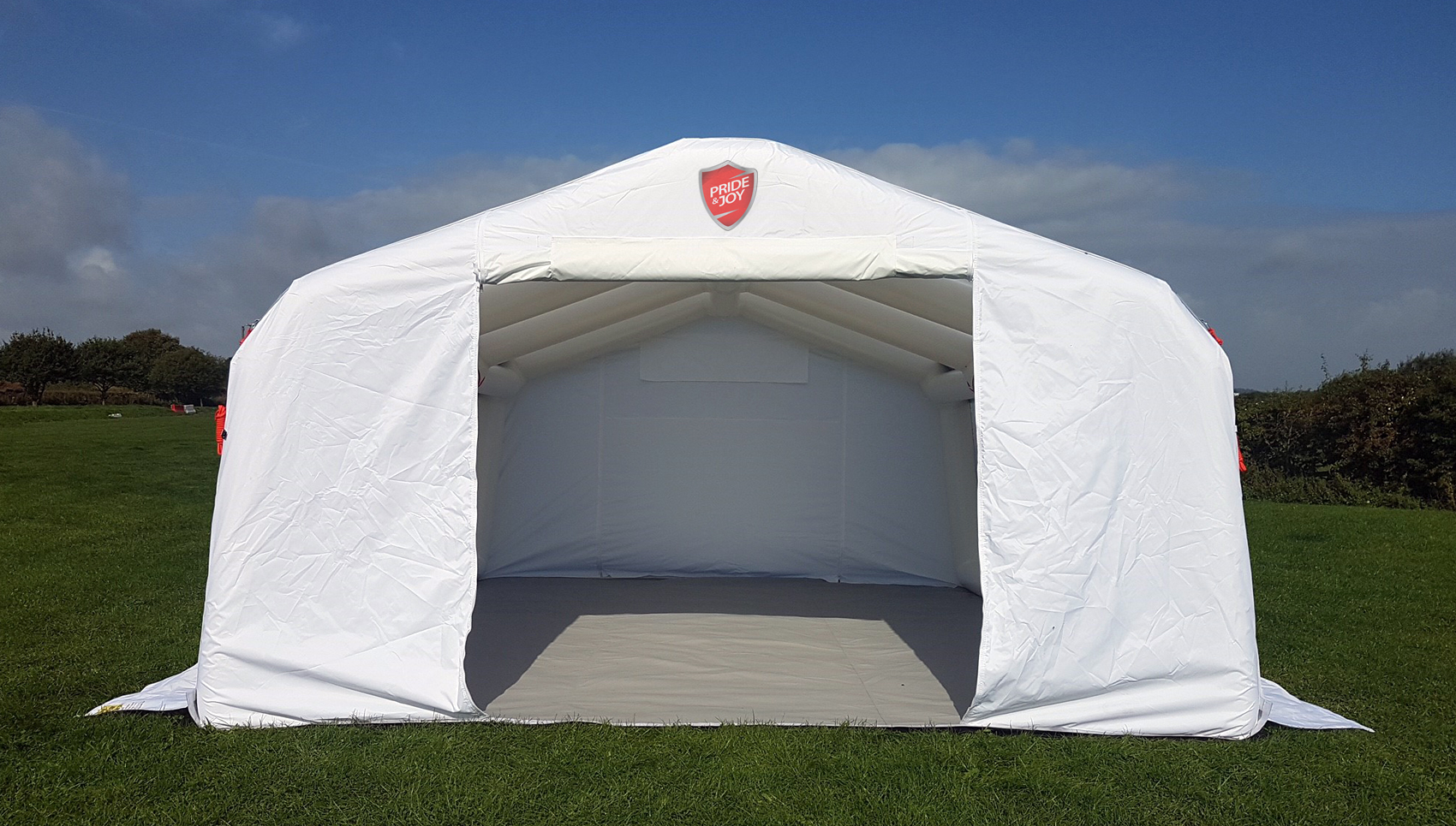 Mobile tent for fitting PPF