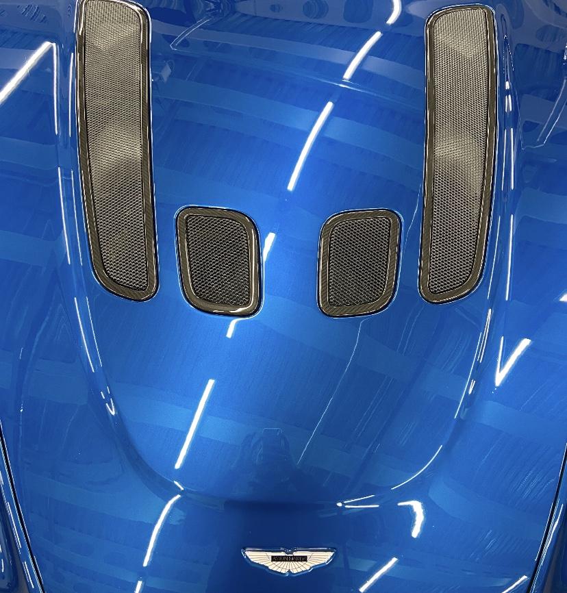 Ming Blue Aston Martin V12 Vantage